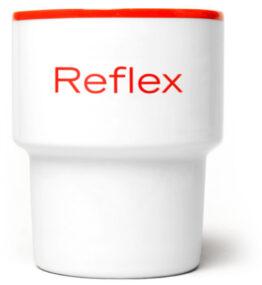 Kubek bez ucha Reflex