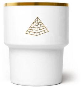Kubek bez ucha Piramida