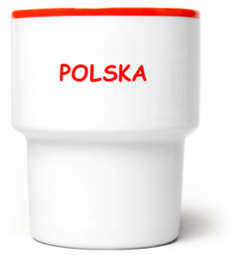 Kubek bez ucha Polska