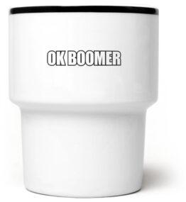 Kubek bez ucha OK Boomer