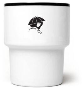 Kubek bez ucha Dziewczyna z parasolem