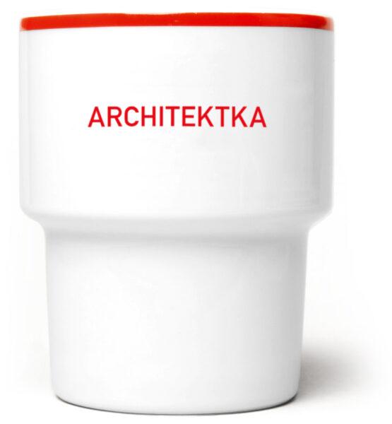 Kubek bez ucha Architektką