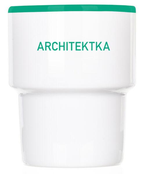 Kubek bez ucha Architektka