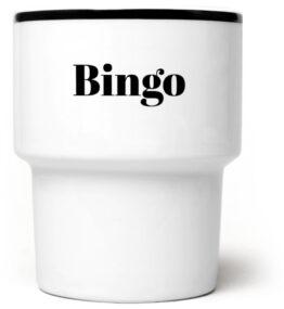 Kubek bez ucha Bingo